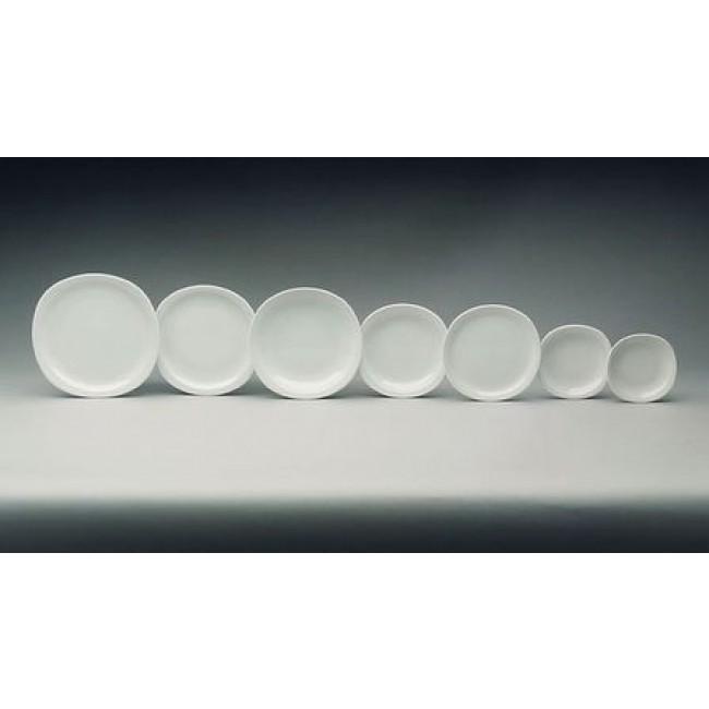 Assiette creuse ronde blanche 22cm