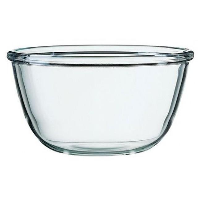 Saladier en verre trempé 360cl / 24cm empilable - Cocoon - Arcoroc