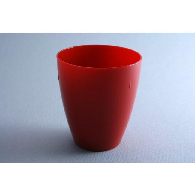 Gobelet rouge 45cl en polycarbonate - Lot de 6