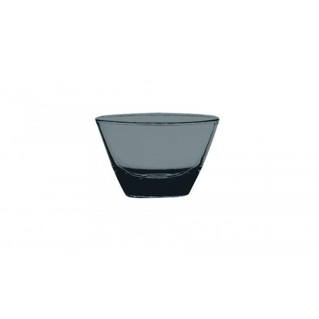 Coupelle ronde béryl Ø12cm en polycarbonate - Lot de 6