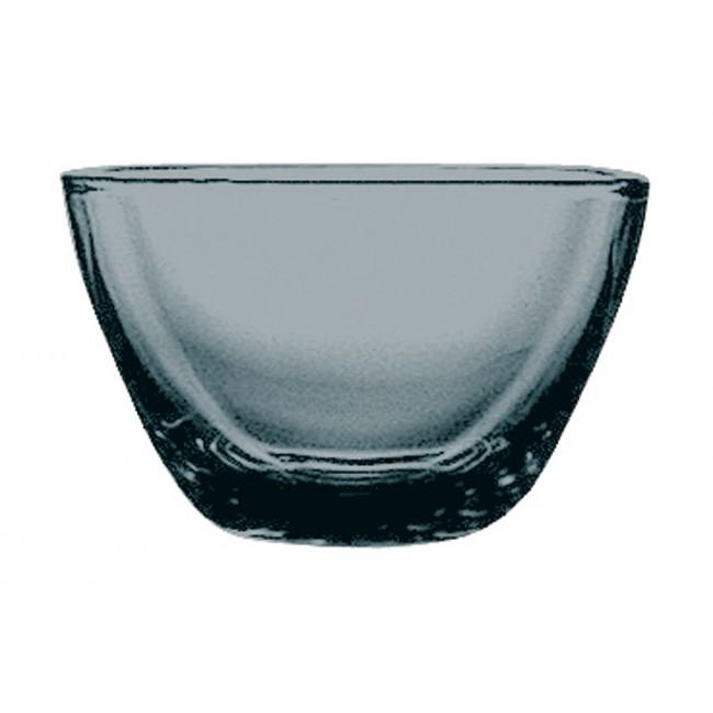 Coupelle carrée béryl 10cmx10cm en polycarbonate - Lot de 6