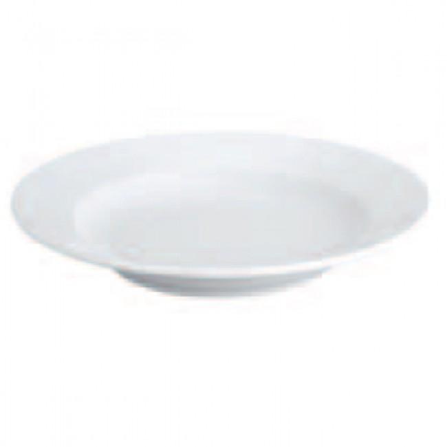 Assiette creuse ronde 23cm blanche en porcelaine - Paris - Pillivuyt