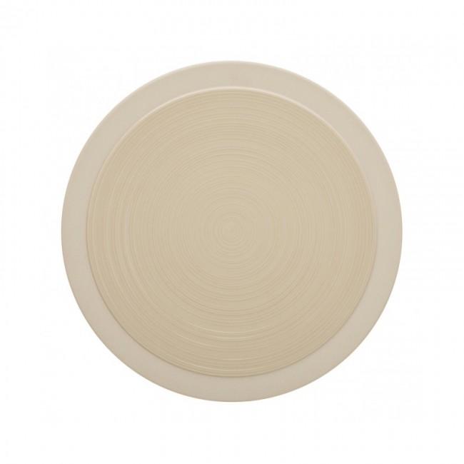 Assiette plate ronde 14cm dune en grès - A l'unité - Bahia - Guy Degrenne