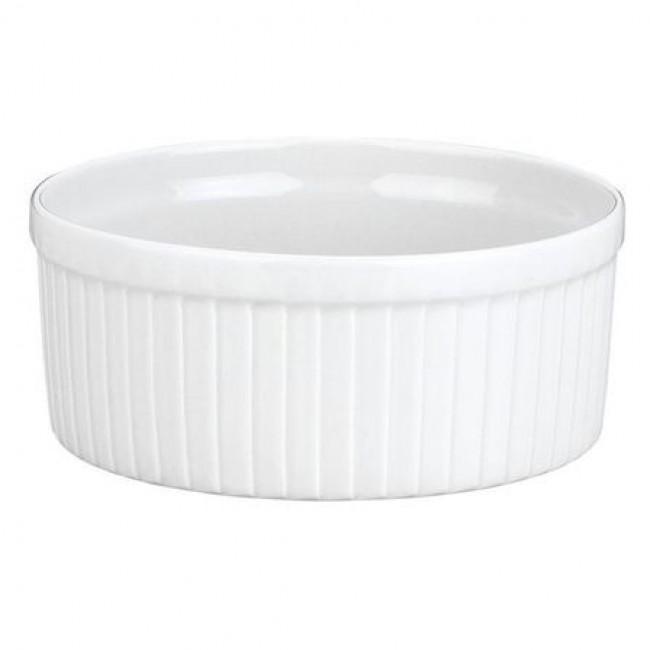 Moule à soufflé blanc 90cl en porcelaine 15,2cm - Pillivuyt