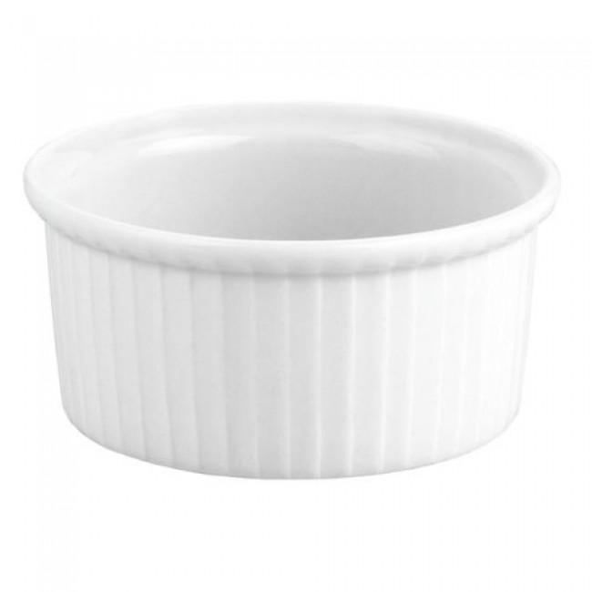 Ramequin plissé blanc 15cl en porcelaine 9cm - Buffet - Pillivuyt