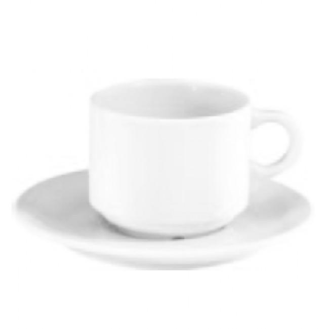 Tasse à déjeuner 30cl blanche en porcelaine - Europe - Pillivuyt