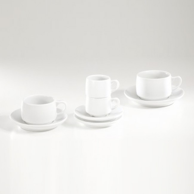 Tasse à déjeuner 30cl blanche en porcelaine - Paris - Pillivuyt