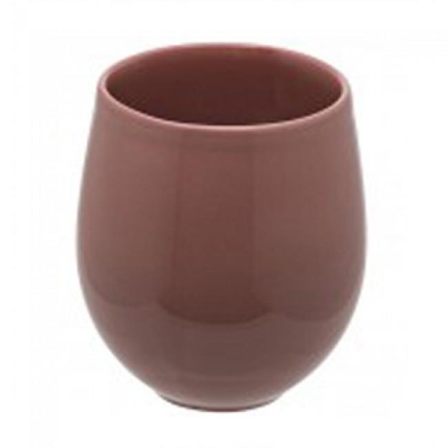 Tasse à thé 20cl en grès sable rose - A l'unité - Bahia - Guy Degrenne