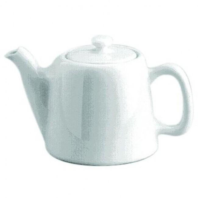 Théière standard 6 tasses en porcelaine blanche 75cl - Pillivuyt