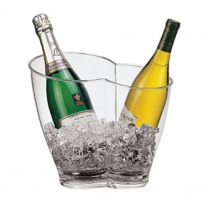 """Vasque """"duo de champagne"""" - Acrylique- Paderno"""