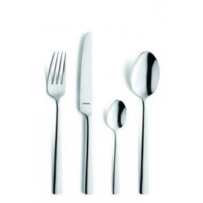 Fourchette à dessert forgé inox 18/10 de 2,5mm finition miroir - Lot de 6 - Moderno - Amefa