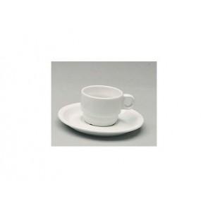 Sous-tasse blanche 14cm