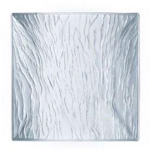 Assiette transparente carrée 19cm - Minerali Arcoroc