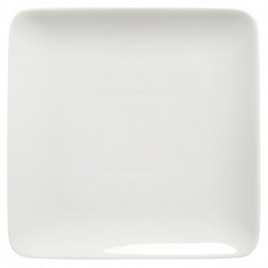 Assiette à pain plate carrée 14cm blanche - Modulo - Guy Degrenne