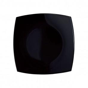 Assiette creuse carrée 20cm noire - A l'unité - Delice - Arcoroc