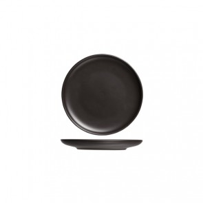 Assiette plate ronde noire okinawa 15cm - Okinawa - Cosy & Trendy