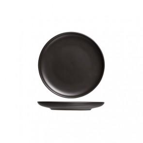 Assiette plate ronde noire okinawa 19cm - Okinawa - Cosy & Trendy