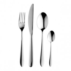 Ménagère 18 pièces en inox 18/0 finition miroir - Cassiopée - Guy Degrenne