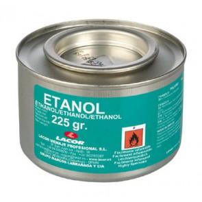 Boîte d'alcool à brûler / éthanol en gel - 225g - Lot de 6 - Alcool - Lacor