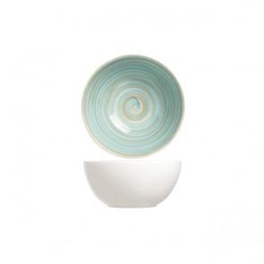 Bol rond blanc et bleu 14.5cm - Turbolino - Cosy & Trendy