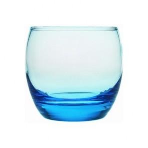 Verre à eau bleu forme basse 32cl - Lot de 6 - Ice Blue - Salto - Arcoroc