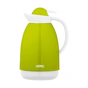 Carafe isotherme inox 1L verte et blanche - Patio - Thermos