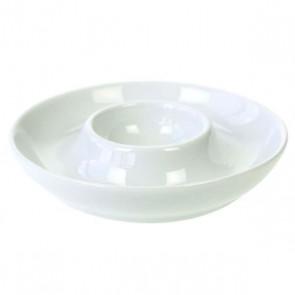 Coquetier en porcelaine blanche - lot de 4 - Cosy & Tendry