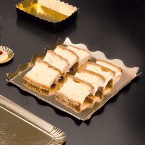 Dentelle cartonnée or et noir pour pâtisserie - 21 x 21cm - Lot de 50 - Carton à pâtisserie - AZ Boutique