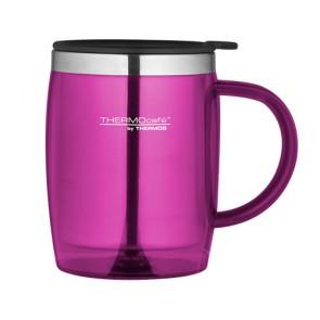Desk mug isotherme 45cl fushia - Thermocafé - Thermos
