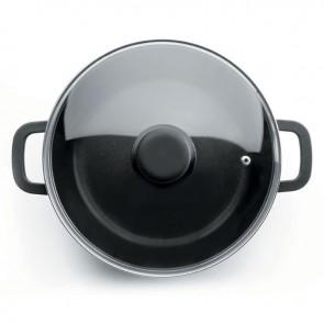 Faitout rond induction en fonte d'aluminium - Ø 30 cm - Fonte Forte - Lacor