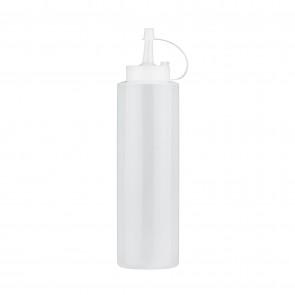 Flacon doseur verseur souple blanc 36cl en polyéthylène - Paderno