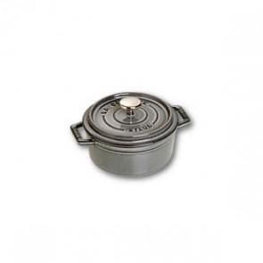 Cocotte en fonte ronde 12 cm gris graphite - Fondamentales - Staub