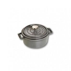 Cocotte en fonte ronde 14 cm gris graphite - Fondamentales - Staub