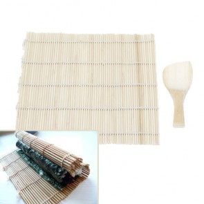 Tapis à sushi bambou 24x24cm