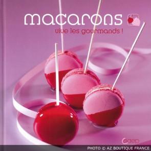 """Livre """"Macarons"""" - 67 pages - Fraise des bois - Saep"""