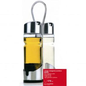 Ménagère 2 pièces huile et vinaigre - Basic - Lacor