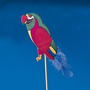 Pique décoration perroquet coloré pour glace 20cm - Lot de 100 - Décorations glace - AZ boutique