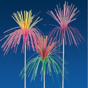 Pique décoration palmier coloré pour glace 15cm - Lot de 100 - Décorations glace - AZ boutique