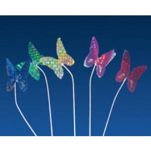 Pique décoration papillon métallisé pour glace 15cm - Lot de 100 - Décorations glace - AZ boutique