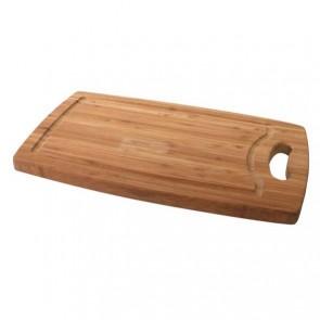 Planche à découper à rigole en bambou 35,5cm x 21cm x 1,8cm - Planche en bois - Cosy & Trendy