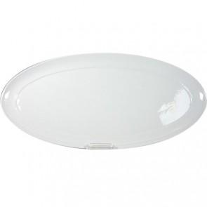 Plat traiteur ovale blanc 40.8x20cm - Resto - Cosy & Trendy