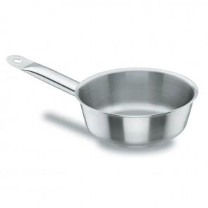 Sauteuse conique en inox 18/10 - Ø 16 cm - Chef Classic - Lacor