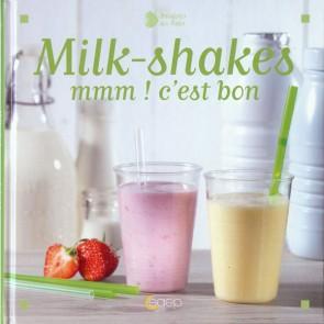 """Livre """"Milk-shakes"""" - 72 pages - Fraise des bois - Saep"""