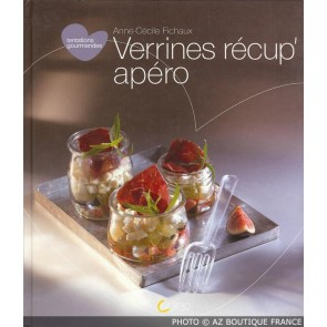 "Livre ""Verrines récup' "" - 80 pages - Tentations Gourmandes - Saep"