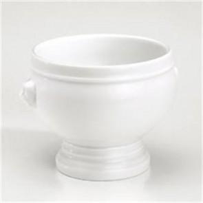 Soupière tête de lion 40cl blanche en porcelaine - Pillivuyt