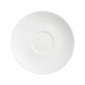 Sous-tasse à thé blanche 14.5cm en porcelaine - Olea - Chef & Sommelier