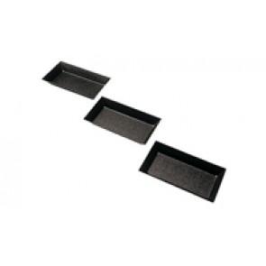Moule tartelette/friand rectangulaire 10x5cm anti-adhérent