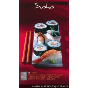 "Livre ""Sushis"" - 95 pages - Delta 2000 - Saep"