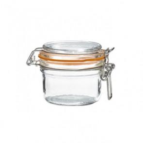 Terrine hermetique en verre 125g joint 70mm - super - le parfait