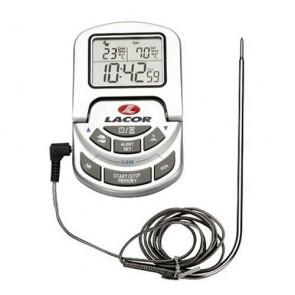 Thermomètre digital de cuisine avec sonde - 0 à 300° C - Thermomètre - Lacor